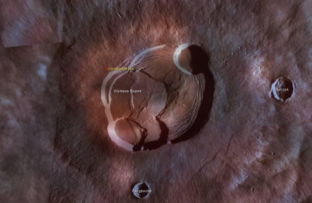 New : ATLAS VIRTUEL DES PLANETES  Viking_olympus_mons