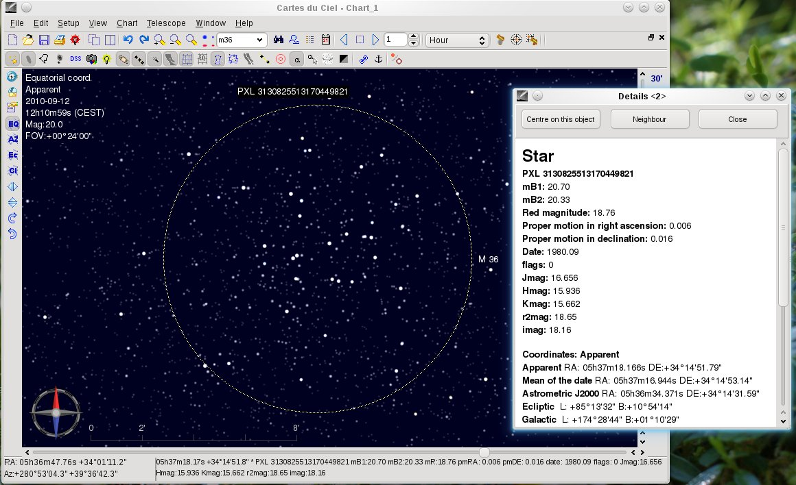 Skychart Full Windows 7 Screenshot Windows 7 Download